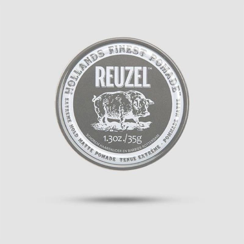 Πομάδα Για Τα Μαλλιά - Reuzel - Extreme Hold 35g /  1.3oz