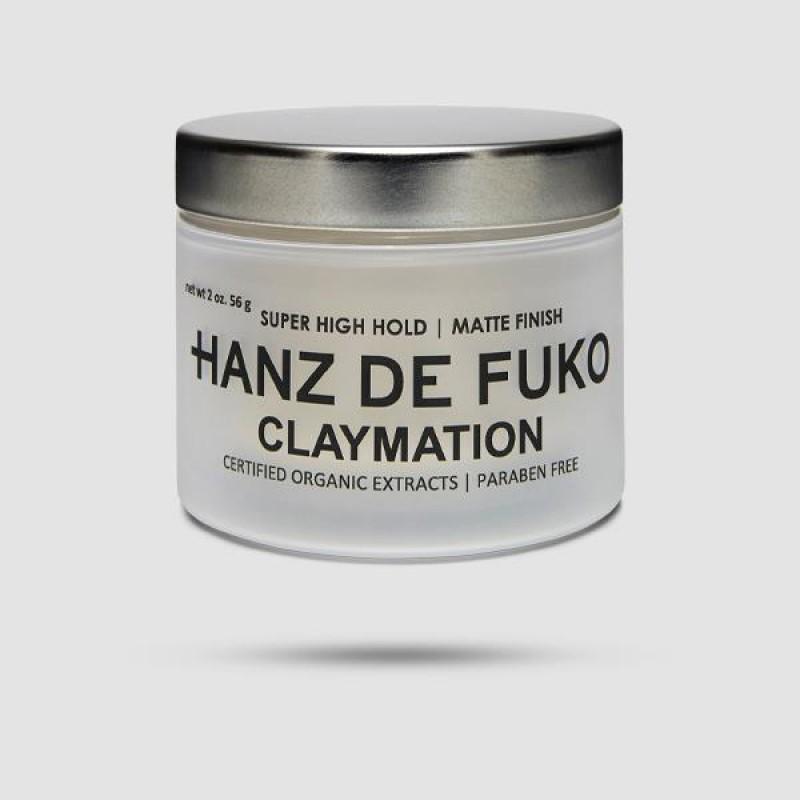 Πηλός Για Μαλλιά - Hanz De Fuko - Claymation 56g / 2oz.