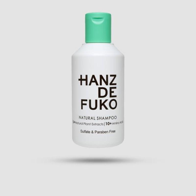 Σαμπουάν Για Μαλλιά - Hanz De Fuko - Natural Shampoo 237 Ml.
