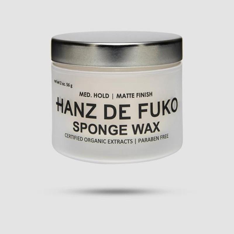 Κερί Για Μαλλιά - Hanz De Fuko - Sponge Wax 56g / 2 fl.oz