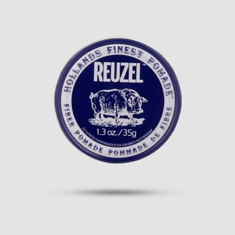 Πομάδα Για Μαλλιά - Reuzel - Fiber Δυνατό Κράτημα | Λίγη Λάμψη 35g