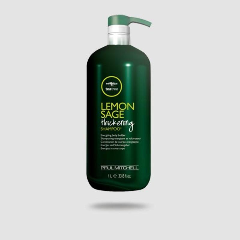 Σαμπουάν Για Μαλλιά - Paul Mitchell® - Lemon Sage Thickening 1000ml