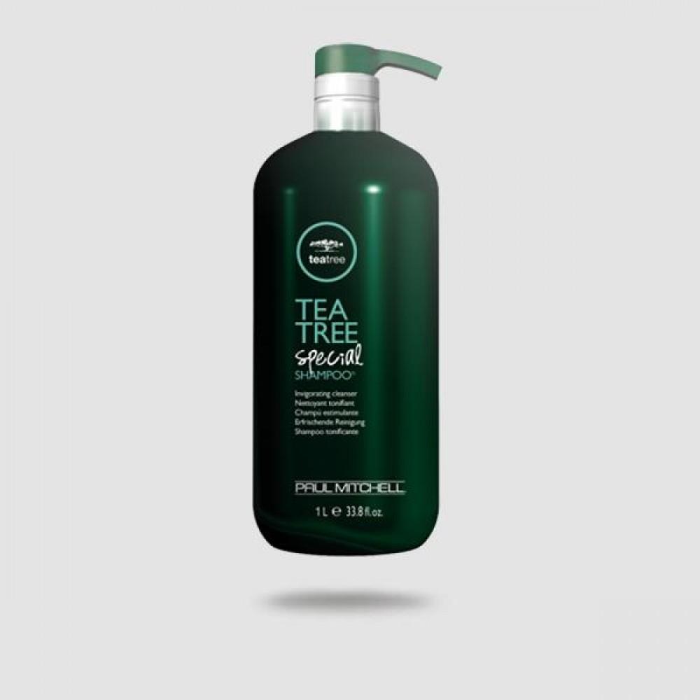 Σαμπουάν Για Μαλλιά - Paul Mitchell® - Tea Tree Special 1000ml