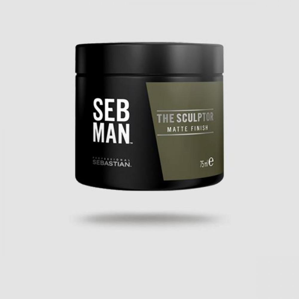 Πηλός Για Μαλλιά - Sebastian Professional - The Sculptor 75 Ml