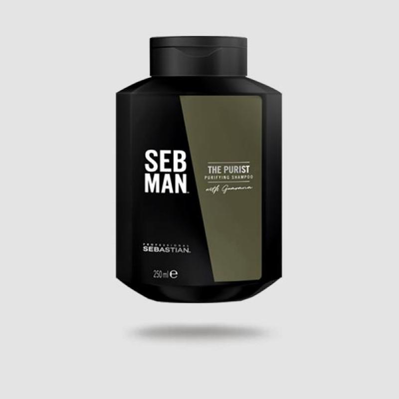 Σαμπουάν Για Μαλλιά - Sebastian Professional - The Purist 250 Ml