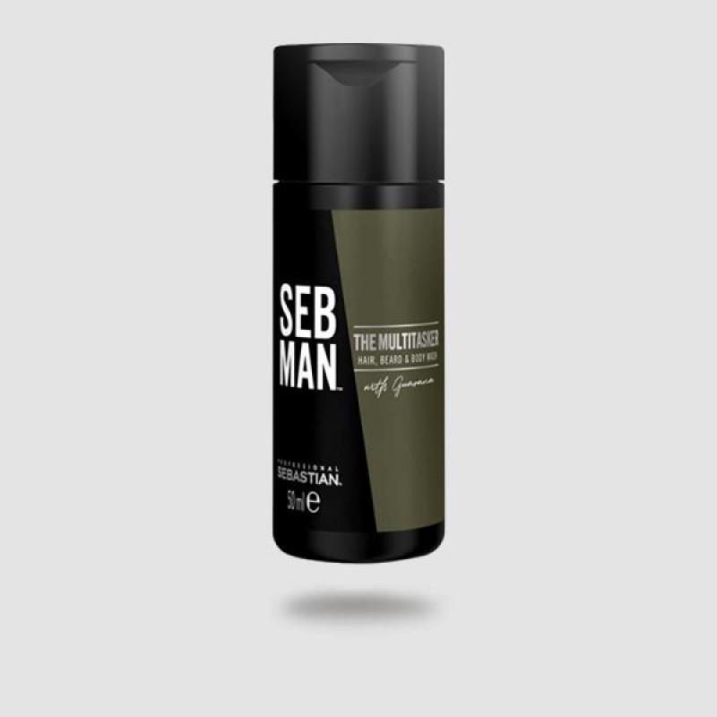 Σαμπουάν Για Μαλλιά | Γένια | Σώμα - Sebastian -the Multi-tasker 50ml