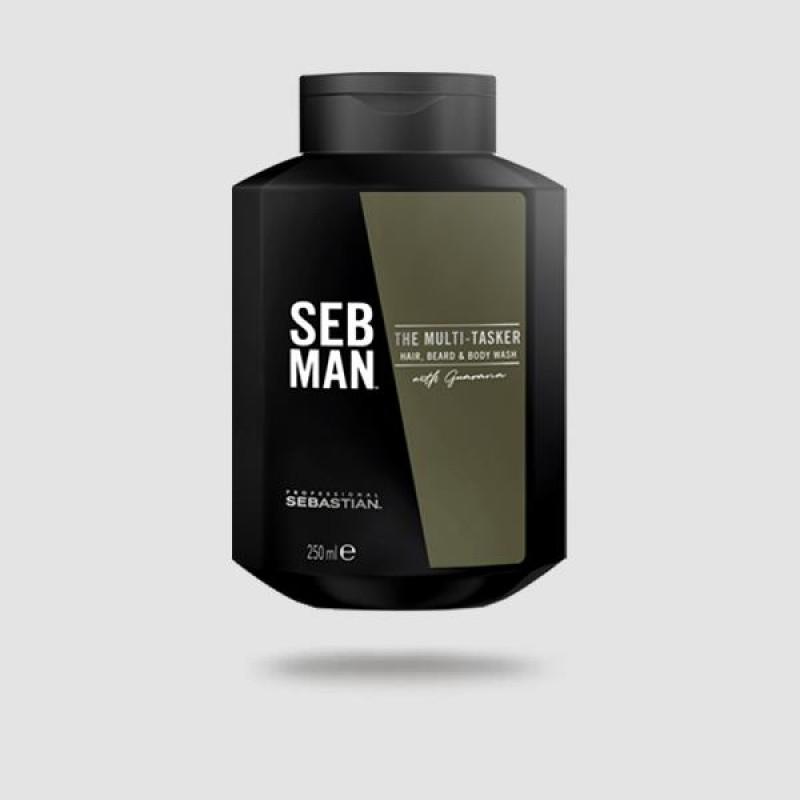 Σαμπουάν Για Μαλλιά   Γενιά   Σώμα - Sebastian -the Multi-tasker 250ml