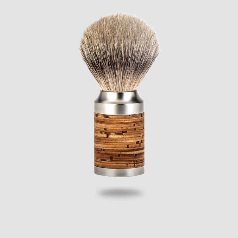 Πινέλο Ξυρίσματος Ασβού - Muhle - 091 M 95, Silvertip Badger