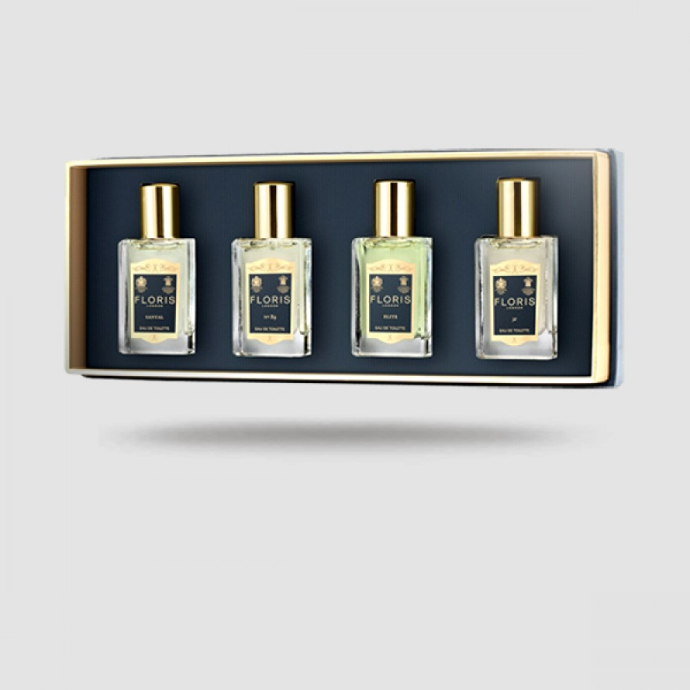 Fragrance Travel Collection - Floris London - For Him 4 X 14ml