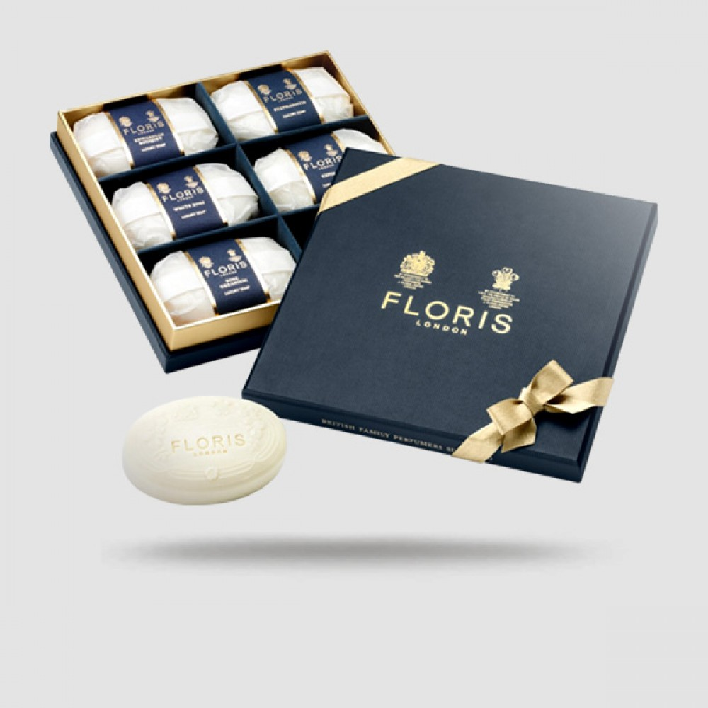 Luxury Soap Collection - Floris London - 6 X 100g