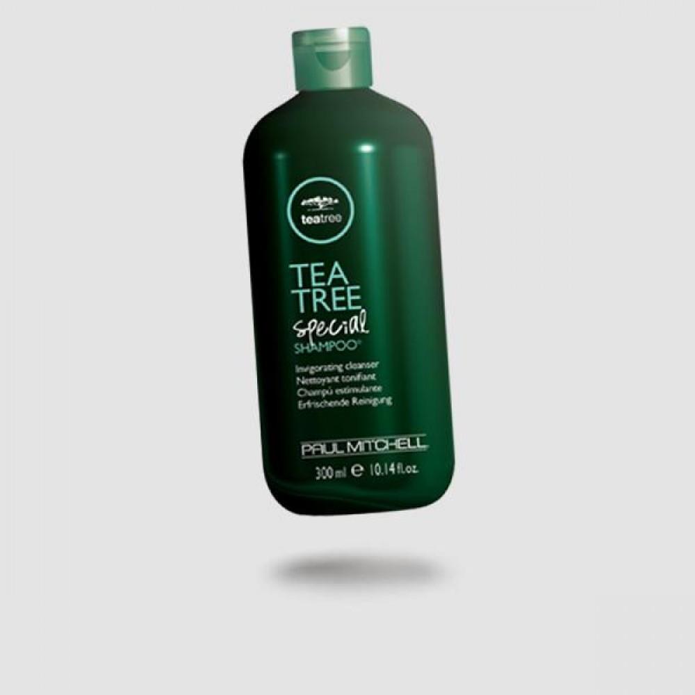 Σαμπουάν Για Μαλλιά - Paul Mitchell® - Tea Tree Special 300ml