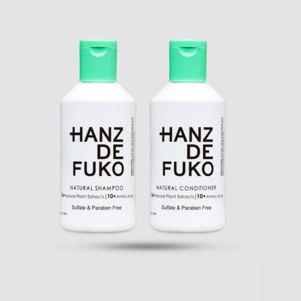 Natural Essential Kit - Hanz De Fuko - Σαμπουάν | Conditioner