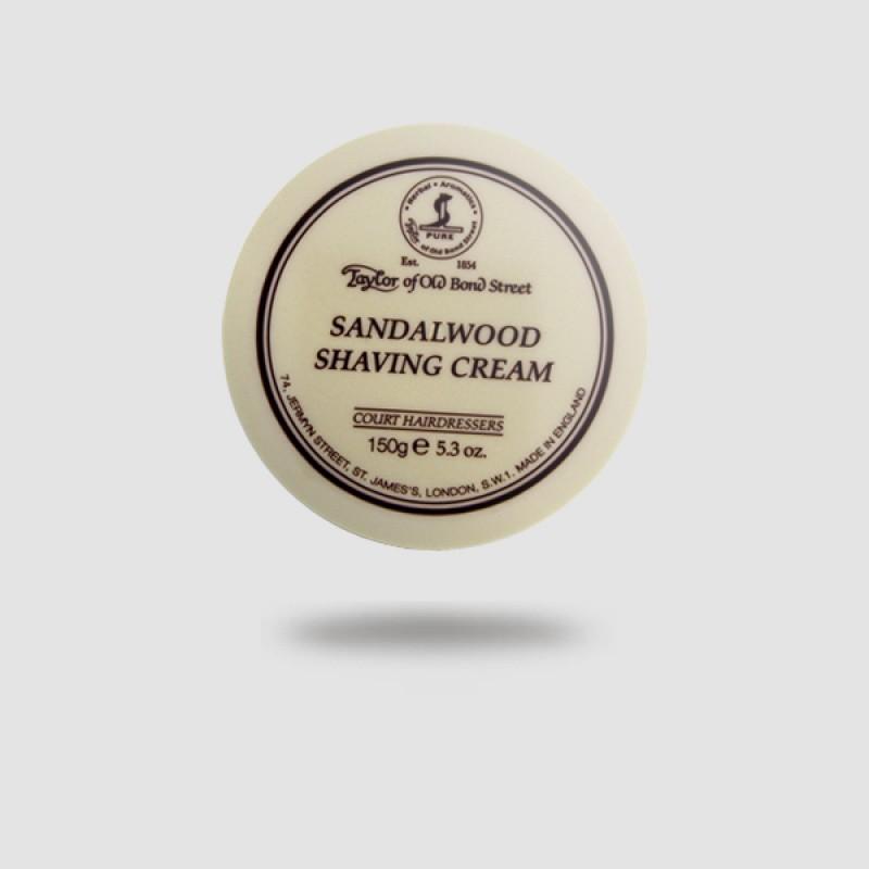 Κρέμα Ξυρίσματος - Taylor Of Old Bond Street - Σανδαλόξυλο 150g