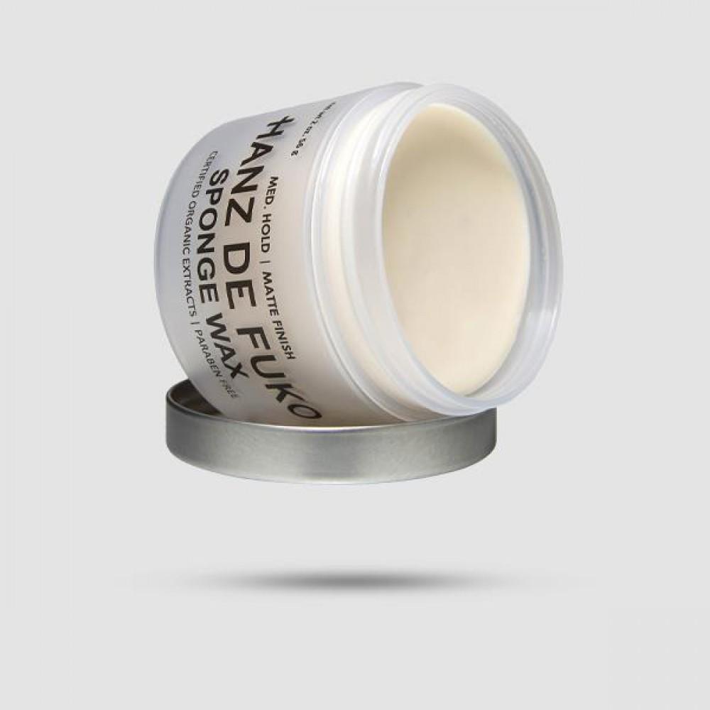 Κερί Για Μαλλιά - Hanz De Fuko - Sponge Wax 60 Ml