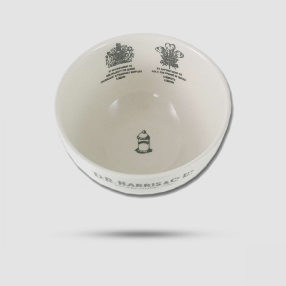 Shaving Lather Bowl - D. R. Harris - Earthenware