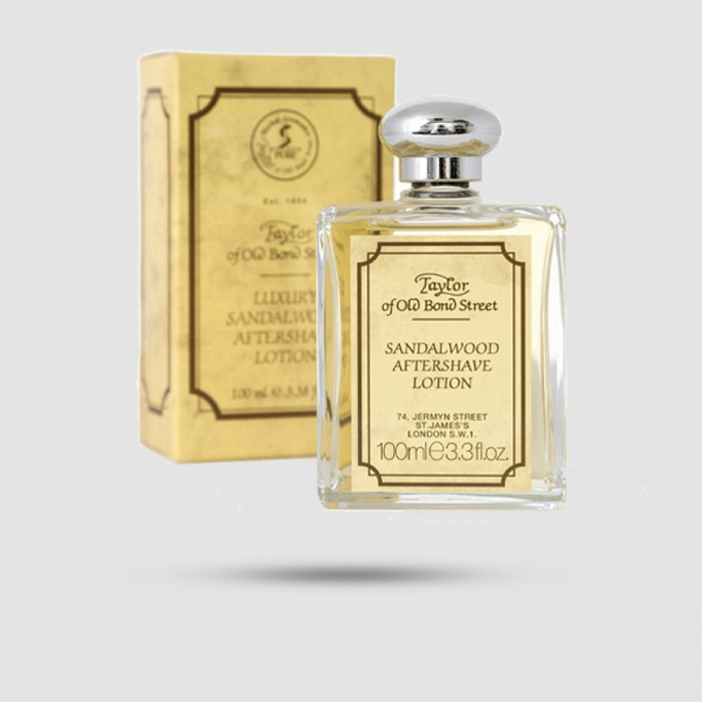 After Shave Lotion - Taylor Of Old Bond Street- Σανδανόξυλο 100ML