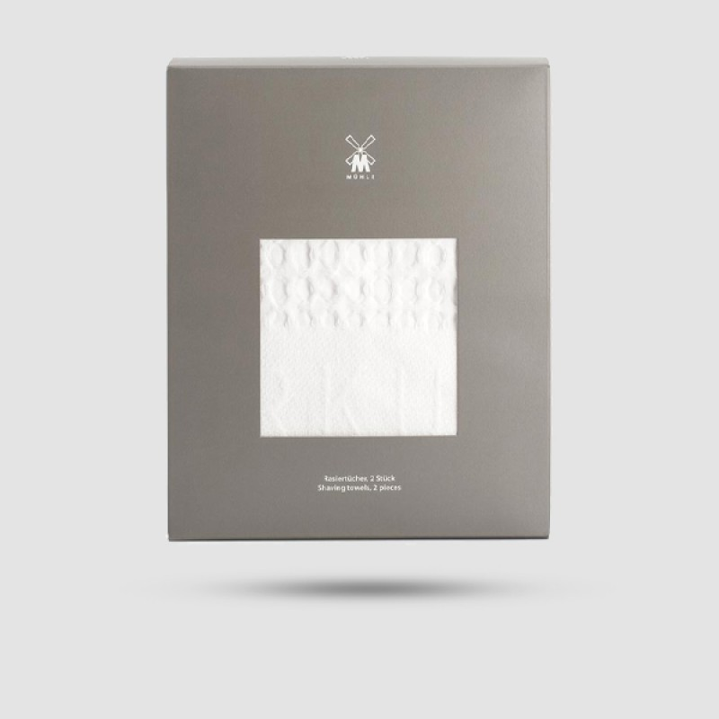Πετσέτες Ξυρίσματος - Muhle - T 1, Απο Καθαρό Βαμβάκι (2τμχ)