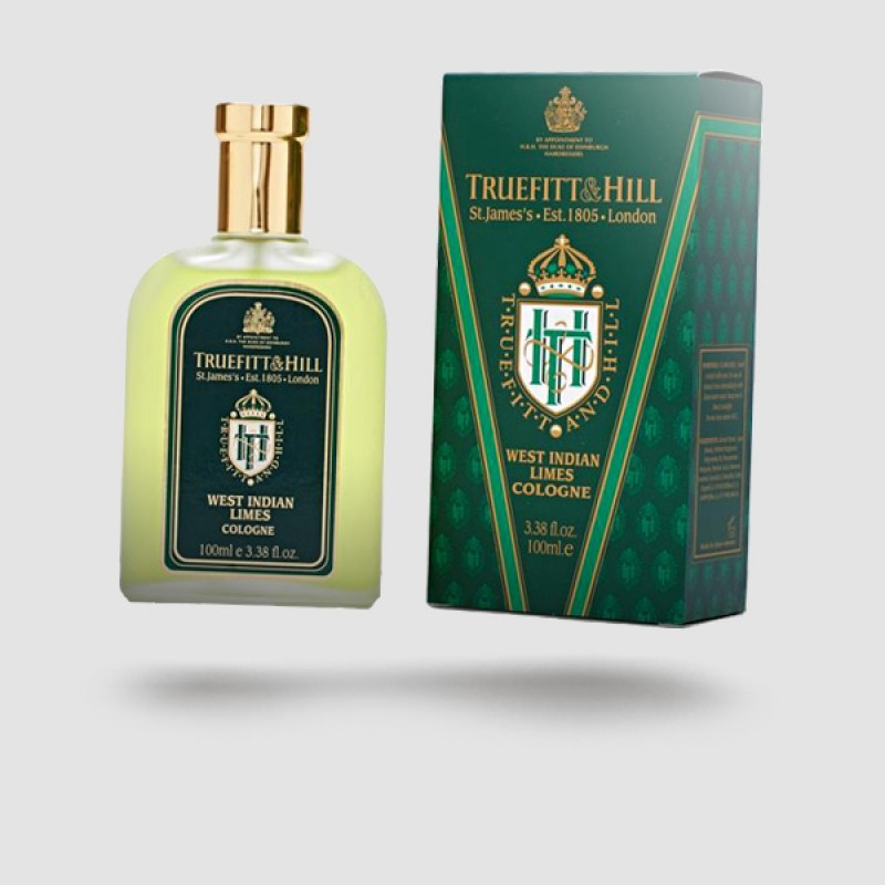 Eau De Cologne - Truefitt And Hill - West Indian Limes 100ml