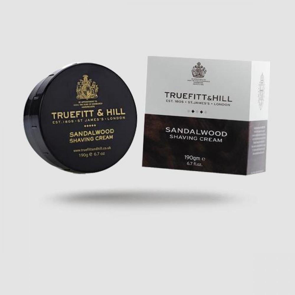 Κρέμα Ξυρίσματος - Truefitt And Hill - Σανδαλόξυλο 190g