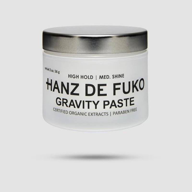 Πάστα Για Μαλλιά - Hanz De Fuko - Gravity Paste 56g