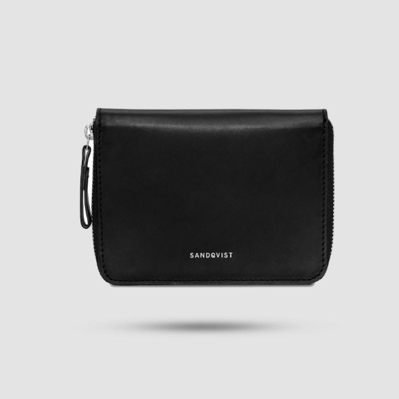 Πορτοφόλι Ανδρικό - Sandqvist - Amanda Σε Μαύρο Χρώμα