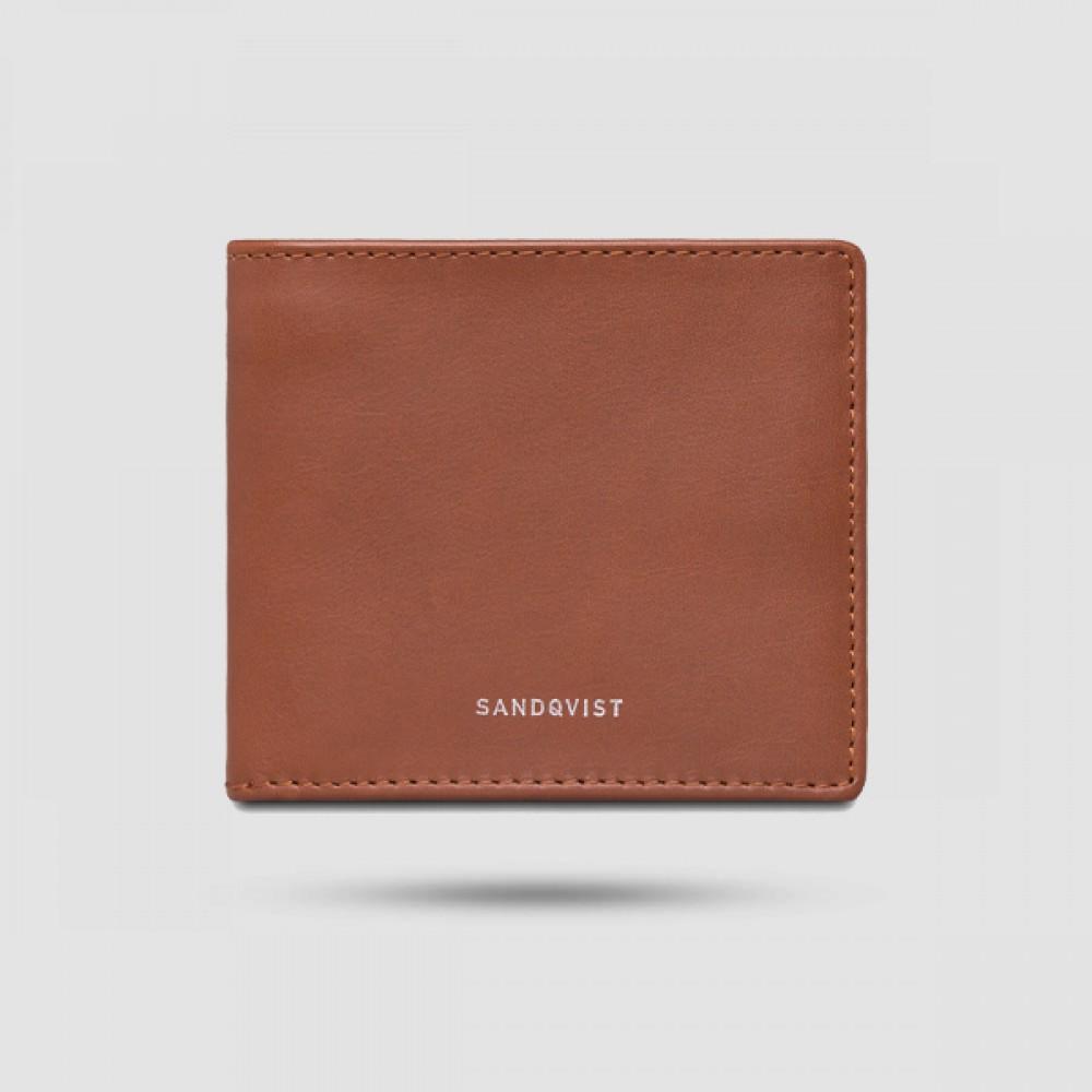 Πορτοφόλι Ανδρικό - Sandqvist - Manfred Σε Καφέ Χρώμα