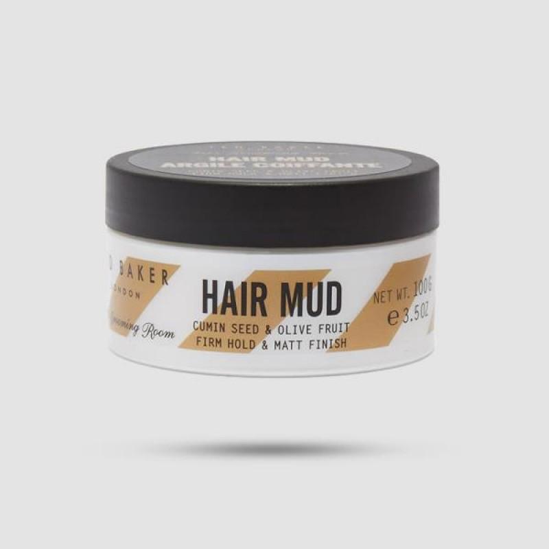 Πηλός Για Μαλλιά - Ted Baker - Hair Mug Argile Coiffante 100g