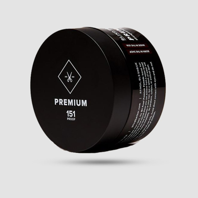 Πομάδα Για Μαλλιά - Blind Barber - 151 Proof Premium Pomade 70g