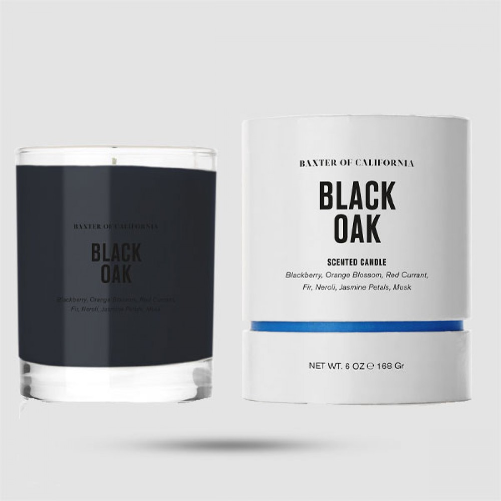 Αρωματικό Κερί Χώρου - Baxter of California - Black Oak Candle 168 g | 6 oz