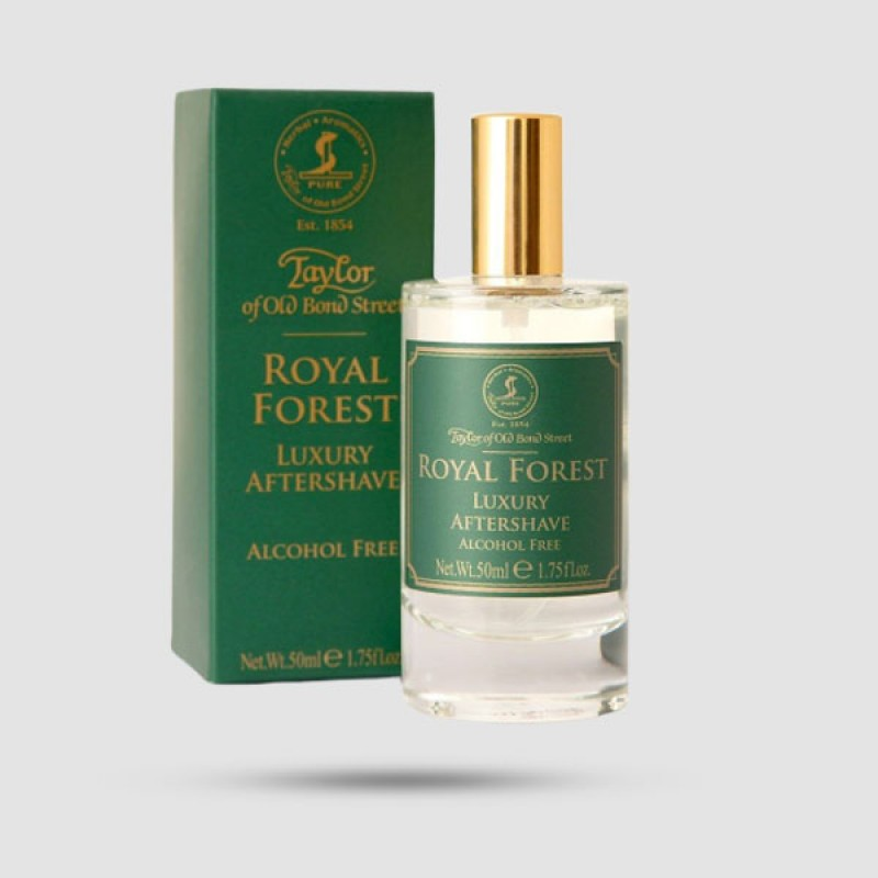 After Shave Lotion - Taylor Of Old Bond Street - Royal Forest Luxury 50ml