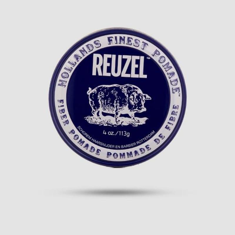 Πομάδα Για Μαλλιά - Reuzel - Δυνατό Κράτημα | Λίγη Λάμψη 113g