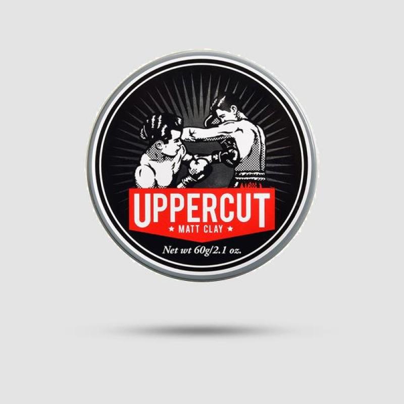 Πηλός Για Μαλλιά - Uppercut Deluxe - Matt Clay 60g