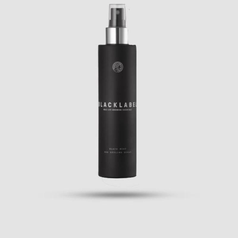 Black Mist - Black Label - (Pre-Styling Spray) 150ml