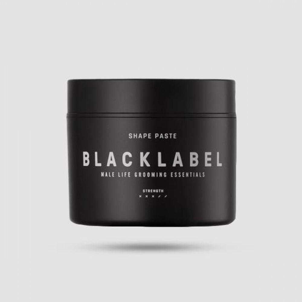 Πάστα Μαλλιών - Black Label - Shape Paste 50ml