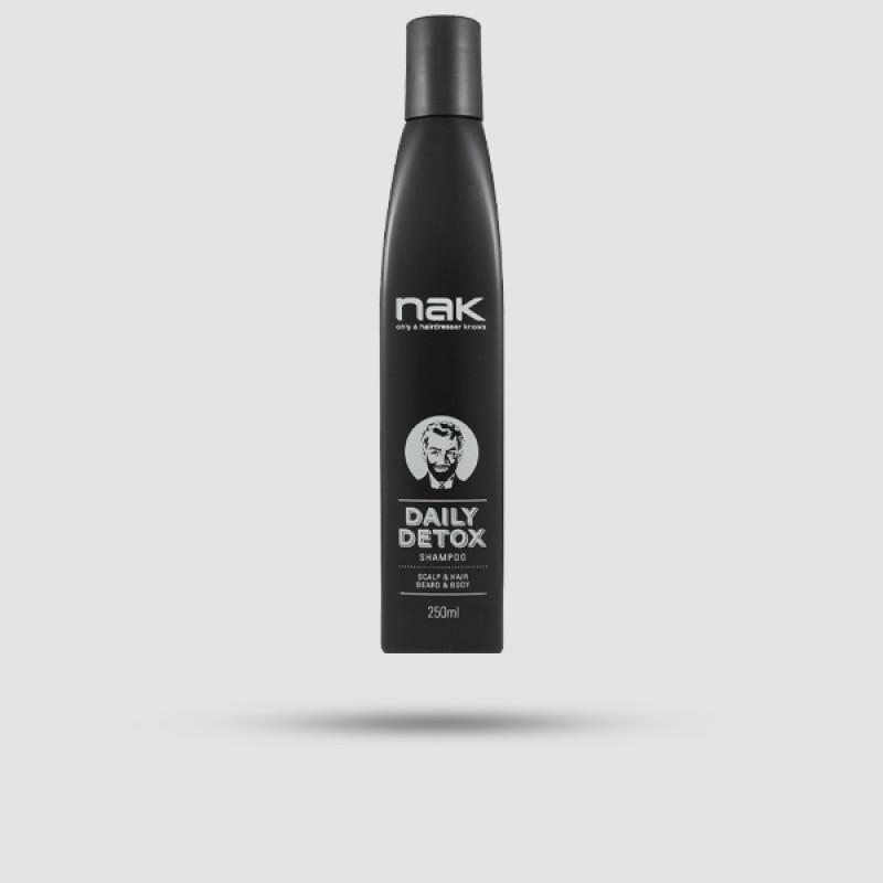 Σαμπουάν Για Μαλλιά - Nak - Daily Detox 250ml