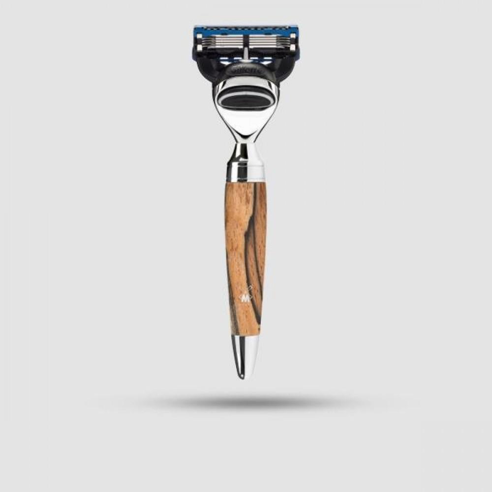 Ξυριστική Μηχανή 5-λεπίδων - Muhle Stylo - R 72 F, Gillette® Fusion™