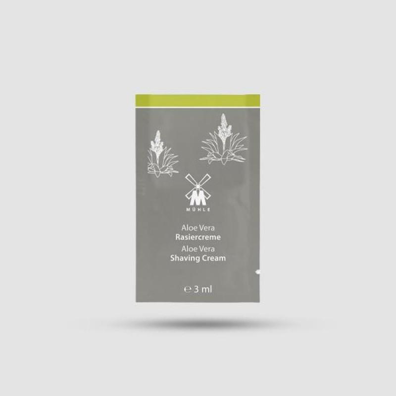 Κρέμα Ξυρίσματος - Muhle - Αλόη Βέρα 3ml