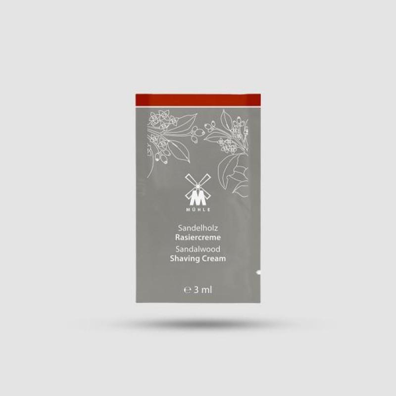 Κρέμα Ξυρίσματος - Muhle - Σανδαλόξυλο 3ml