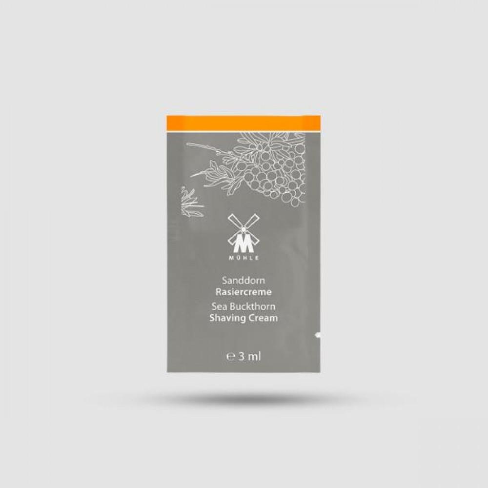 Κρέμα Ξυρίσματος - Muhle - Ιπποφαές 3ml