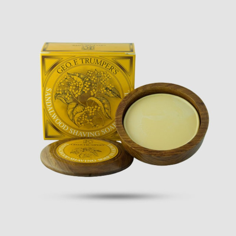 Σαπούνι Ξυρίσματος  - Geo F. Trumper - Σανδαλόξυλο 80g