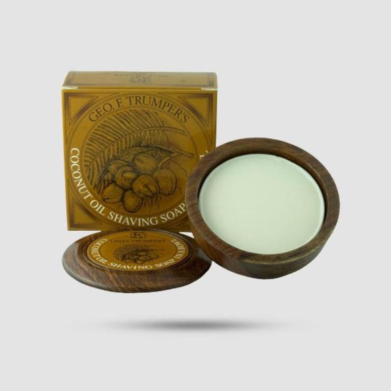 Σαπούνι Ξυρίσματος  - Geo F. Trumper - Έλαιο Καρύδας 80g