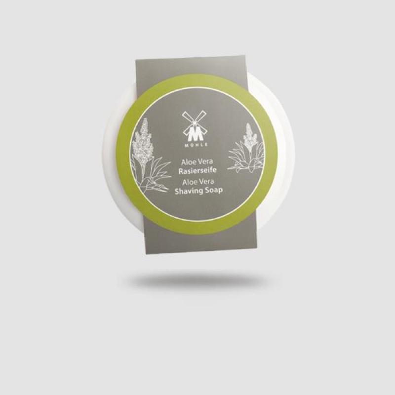 Σαπούνι Ξυρίσματος Σε Μπωλ Πορσελάνης - Muhle - Αλόη Βέρα 65g