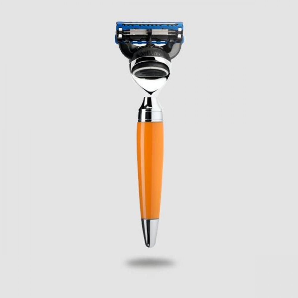 Ξυριστική Μηχανή 5-λεπίδων - Muhle Stylo - R 74 F, Gillette® Fusion™