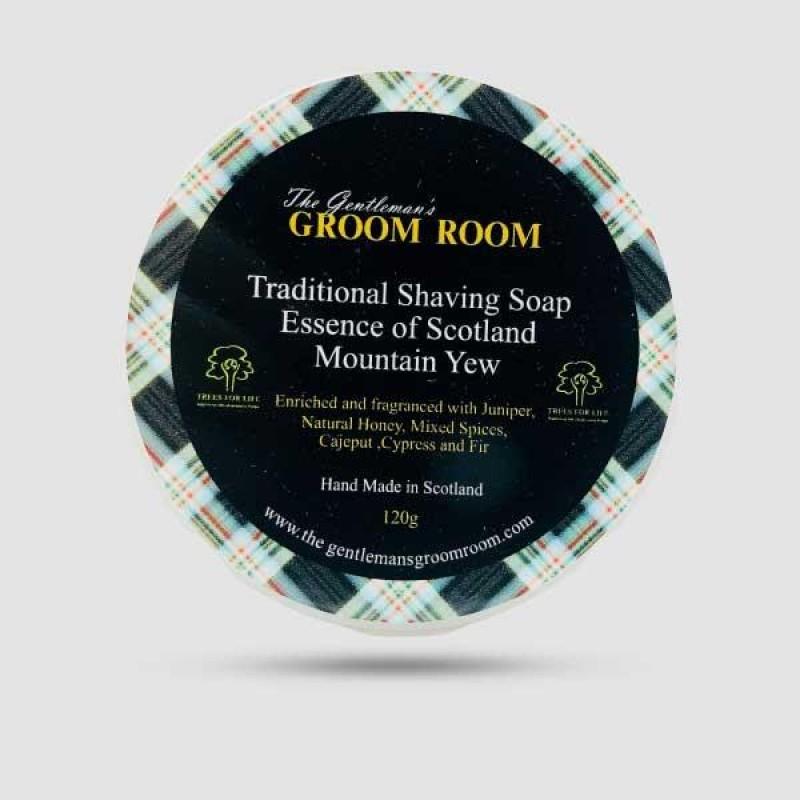 Σαπούνι Ξυρίσματος Essence of Scotland Mountain Yew Traditional 120g