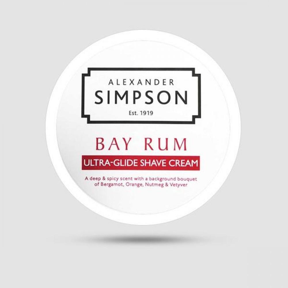 Κρέμα Ξυρίσματος - Simpsons - Με Άρωμα Bay Rum 180ml