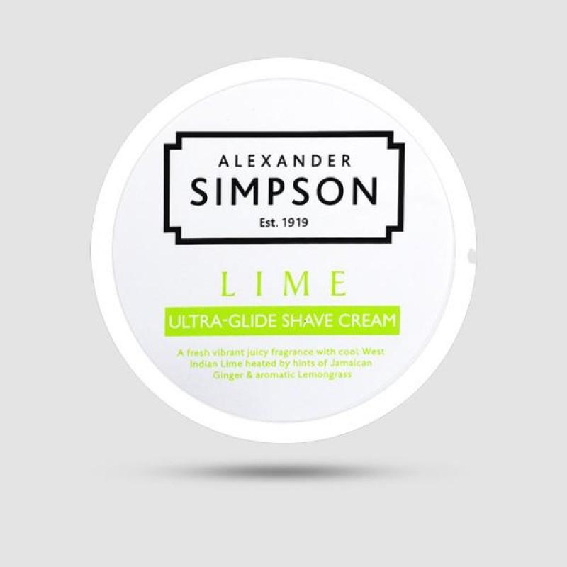 Κρέμα Ξυρίσματος - Simpsons - Με Άρωμα Lime 180ml
