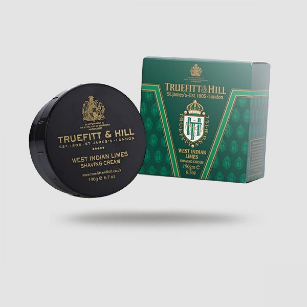 Κρέμα Ξυρίσματος - Truefitt And Hill - West Indian Limes 190g