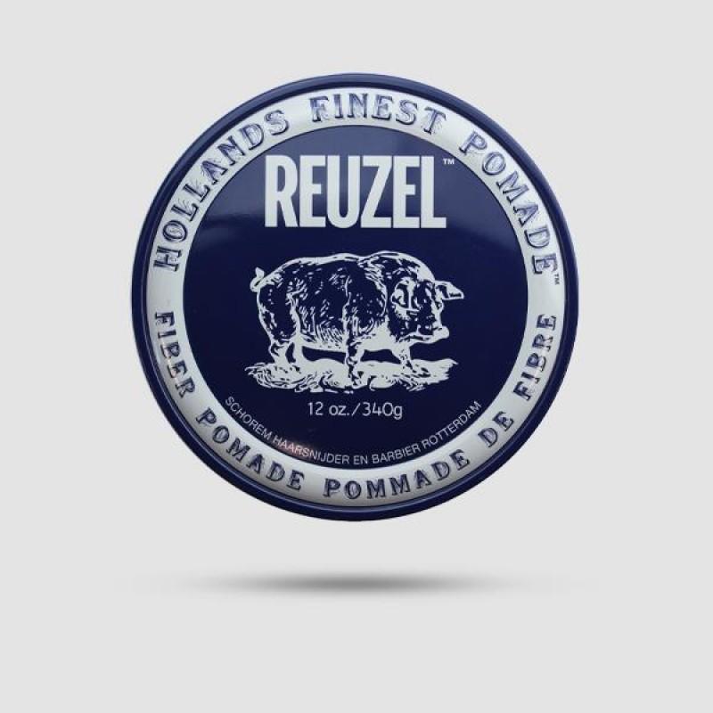 Πομάδα Για Μαλλιά - Reuzel - Δυνατό Κράτημα | Λίγη Λάμψη 340g