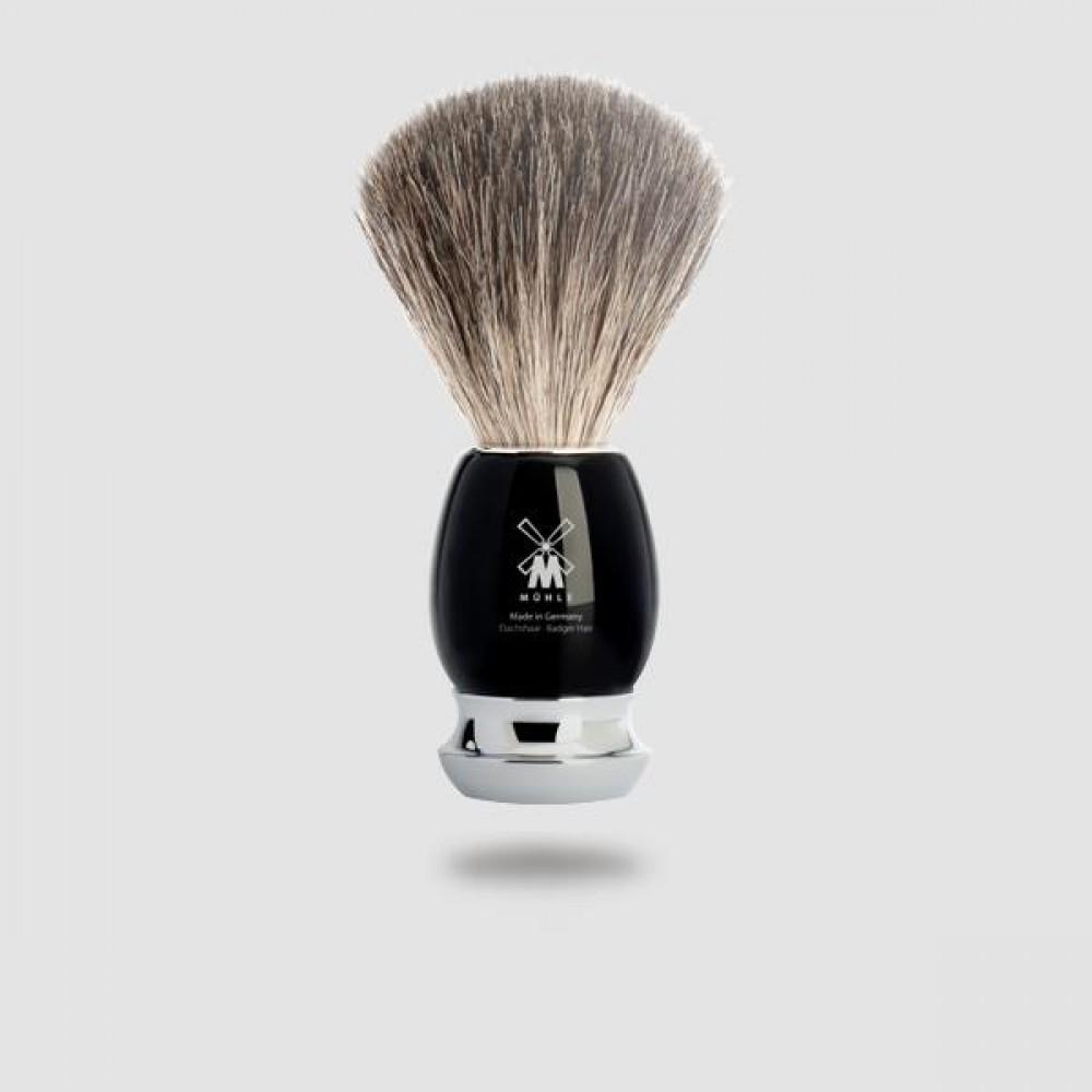 Πινέλο Ξυρίσματος Με Τρίχες Ασβού - Muhle - 81 M 336, Pure Badger