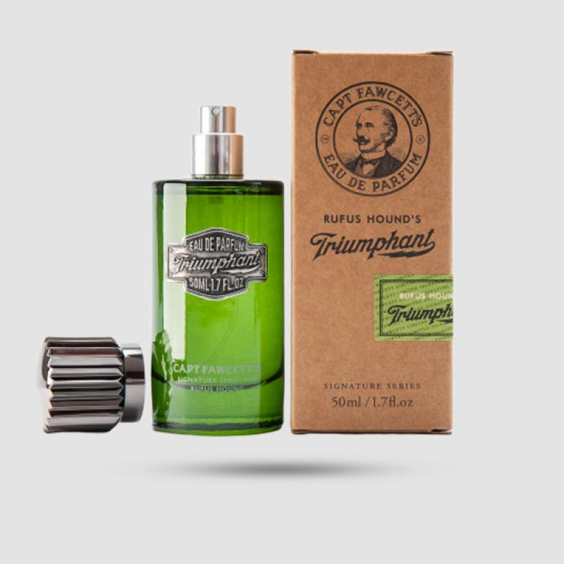 Eau De Parfum - Captain Fawcett - Triumphant by Rufus Hound 50ml